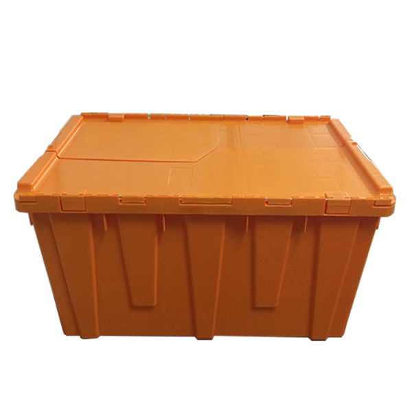 plastic box with lid and handle