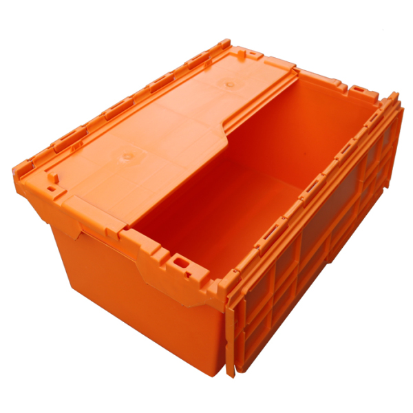 tall storage container with lid